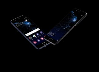 A Huawei P10 kijelzője