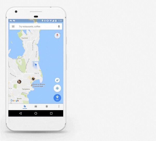 A Google Maps felületén mostantól megoszthatod a hollétedet a legjobb haverokkal