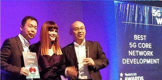 A HUAWEI a 2017. évi 5G Világtalálkozó díjnyertese