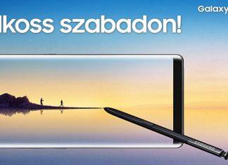 Samsung Galaxy Note8 megjelenés