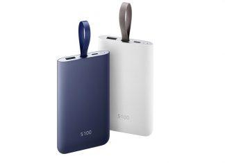 Samsung hordozható gyorstöltő