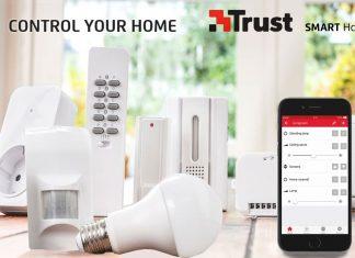 Trust SMART HOME - okosotthon mobiltelefonról vezérelve