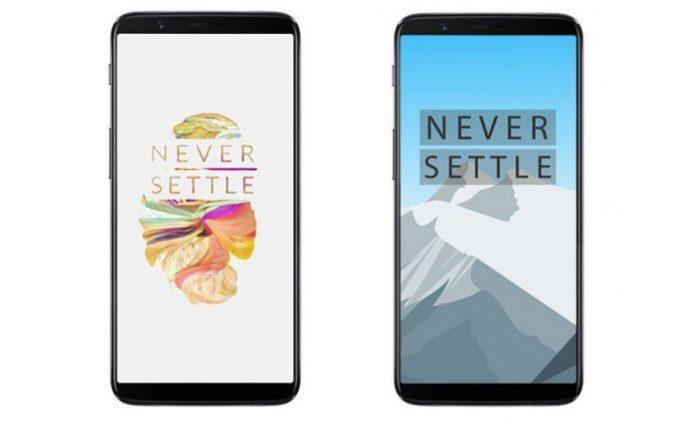OnePlus 5T mobiltelefon
