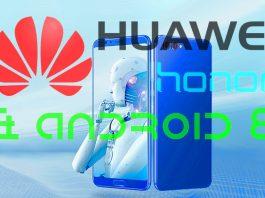 Huawei Honor telefonok Oreo Androiddal