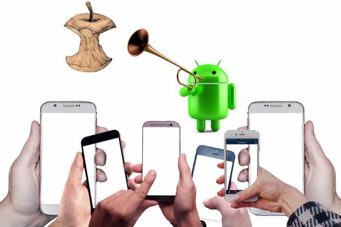 Okostelefonok a világban