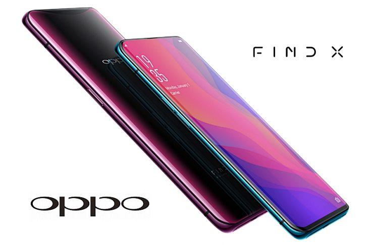 OPPO Find X mobiltelefon