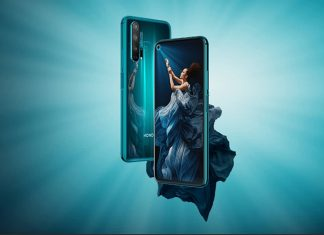 Honor 20 Pro mobiltelefon