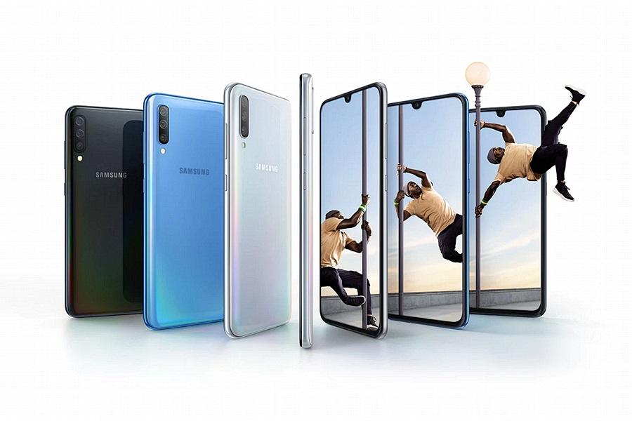 Samsung Galaxy A70 telitalalatos mobiltelefon