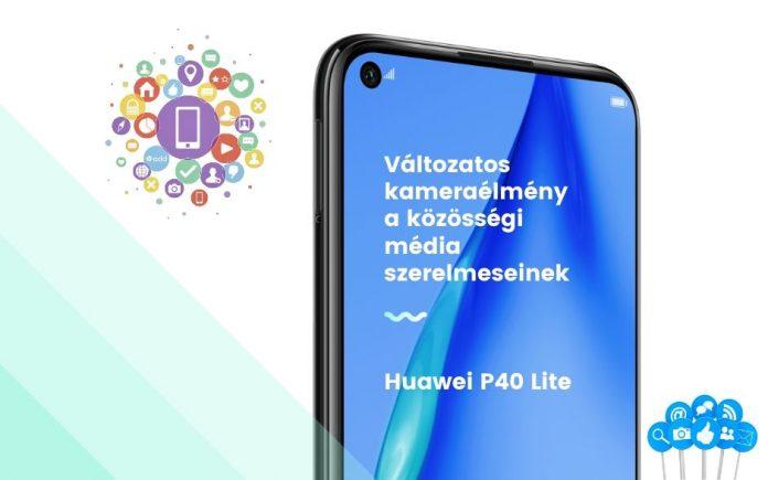 A Huawei P40 sorozatának első tagja