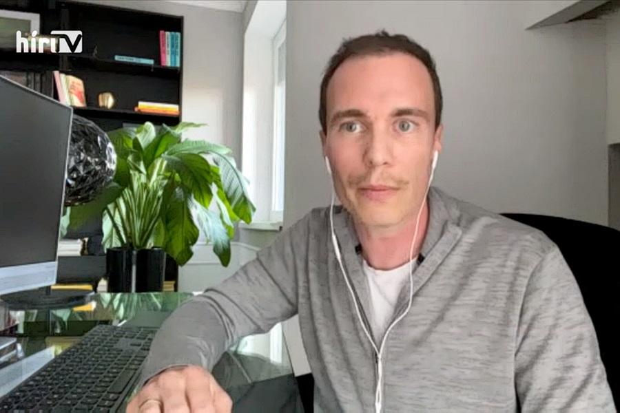 A VirusContact app fejlesztője Werderits Krisztián csapata