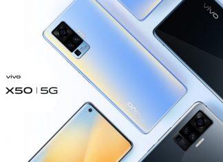 Vivo X50, X50 Pro és X50 Pro+mobilok a lathataron