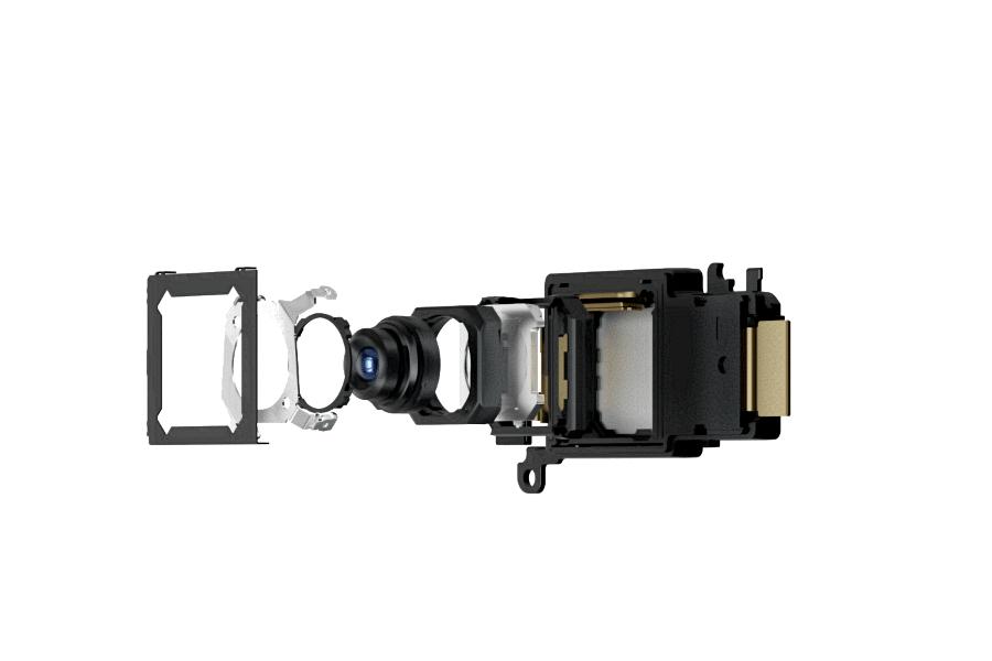 Vivo X50 Pro+periszkópos telefotó optikája