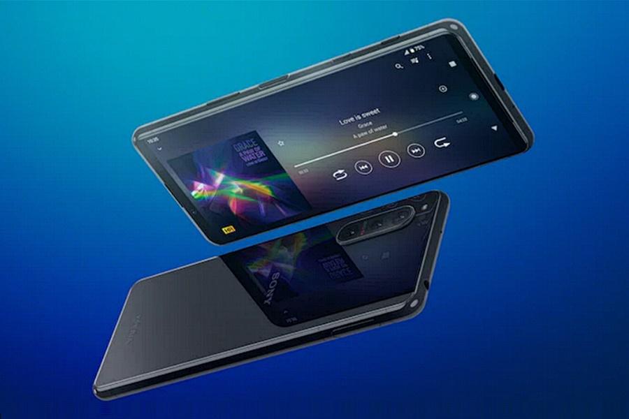 Sony Xperia 5 II fémkeret üveglapokkal