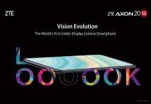 ZTE forradalmi Axon 20 5G mobil kijlező alá rejtett szelfivel