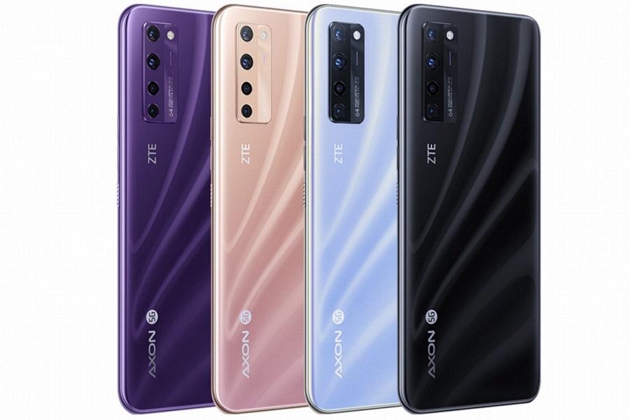 ZTE Axon 20 5G mobil színválasztéka