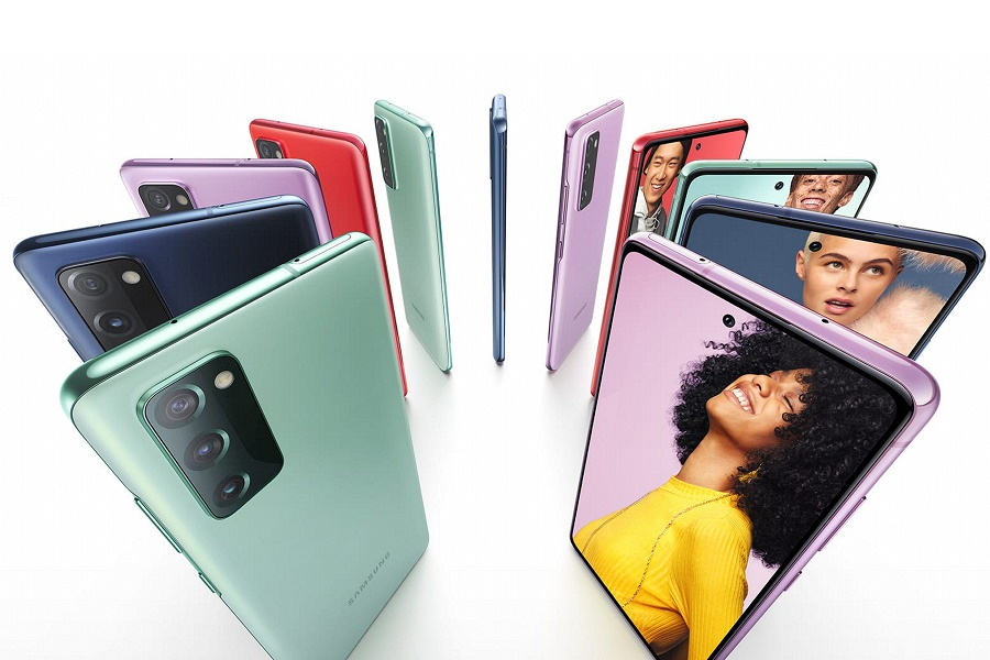 Samsung Galaxy S20 FE színes változatai