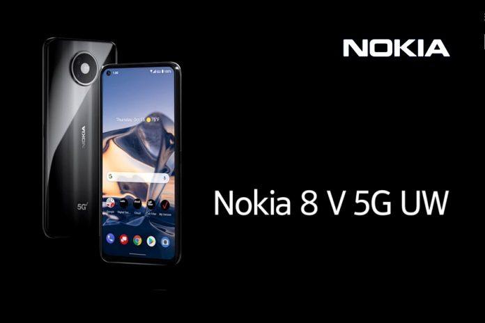 Nokia 8 V 5G UW mobiltelefon