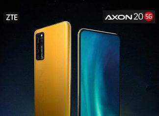 Aranytokozású ZTE Axon Extreme mobiltelefon
