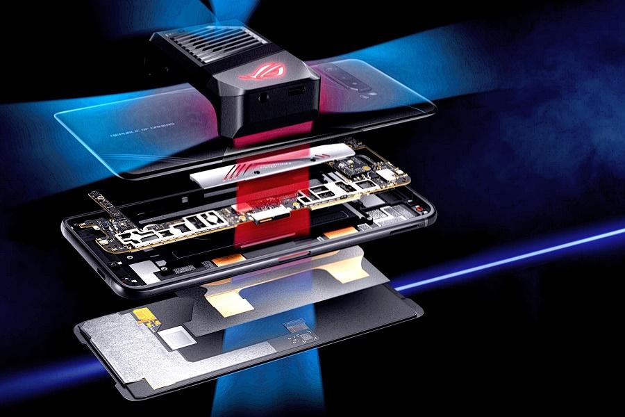 Asus ROG Phone 3 ZS661KS hőelvezetés