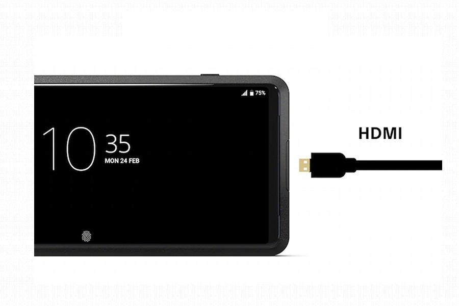 SONY Xperia Pro HDMI miniporttal