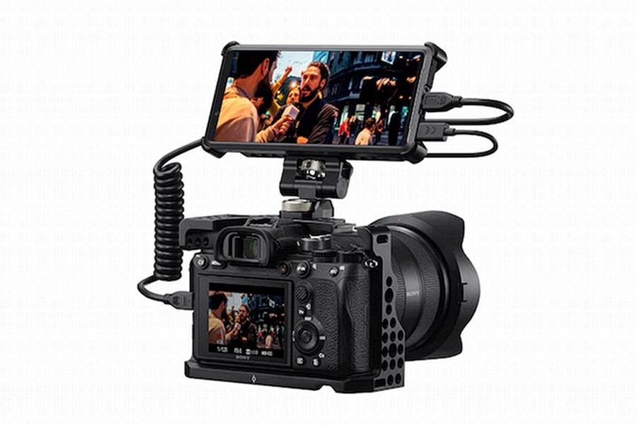 SONY Xperia Pro kamera monitor