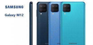 Samsung Galaxy M12 mobil szerénység