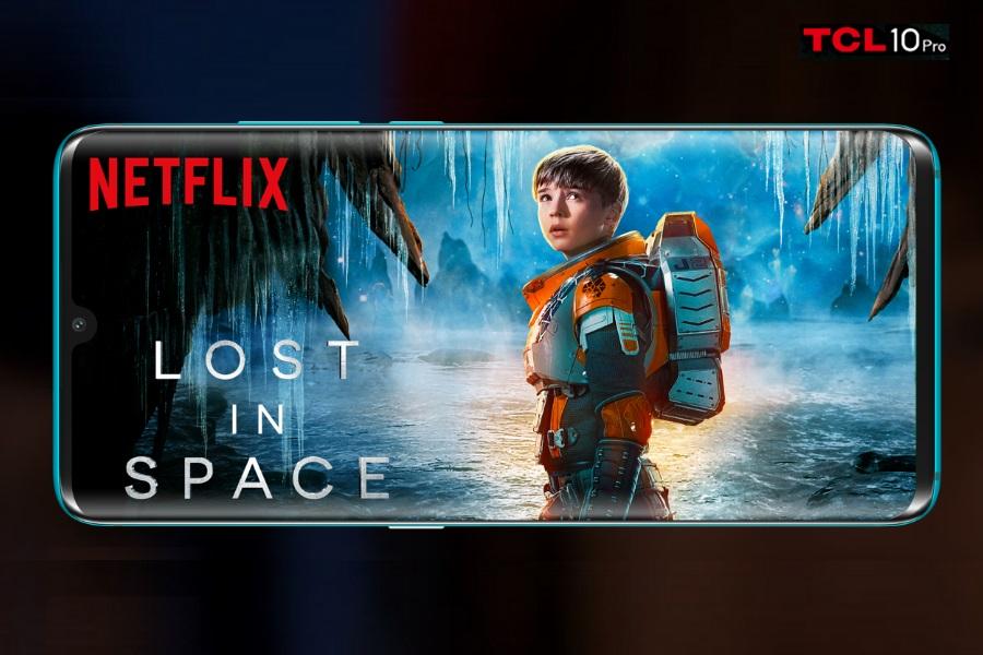 TCL 10 Pro Netflix app
