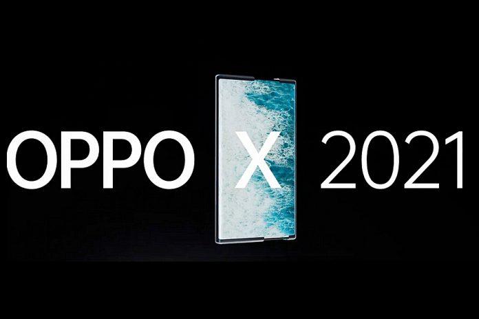 OPPO X2021 mobiltelefon tablet