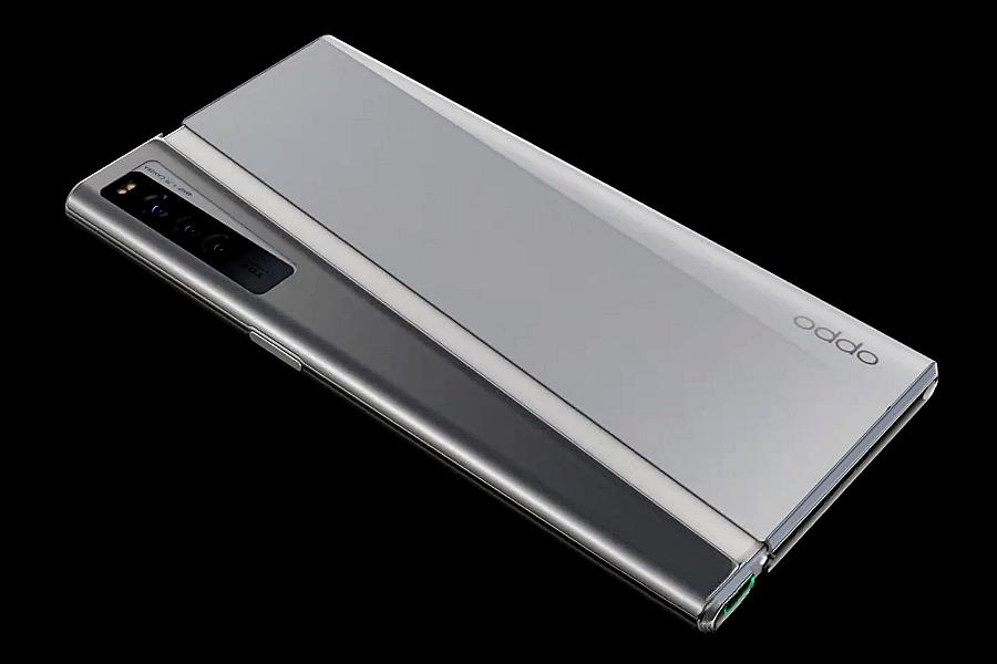 OPPO X 2021 mobiltelefon
