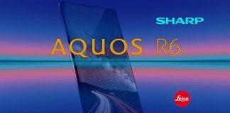 Sharp Aquos R6 mobiltelefon forradalmi kamerával