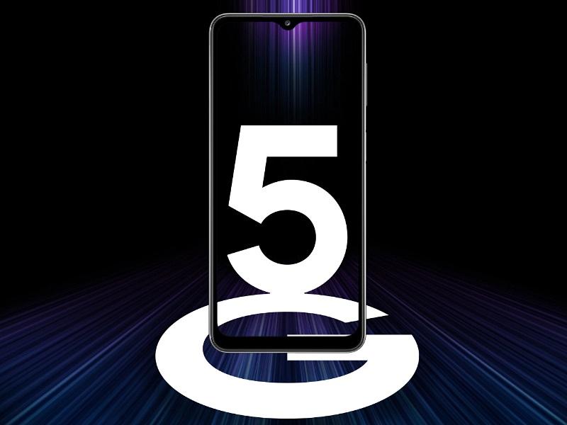 Samsung A32 5G-képes adatforgalommal