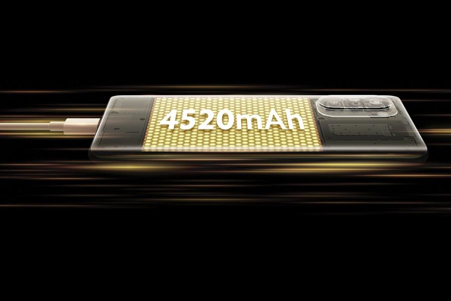 XIAOMI Poco F3 testes akkumulátorral