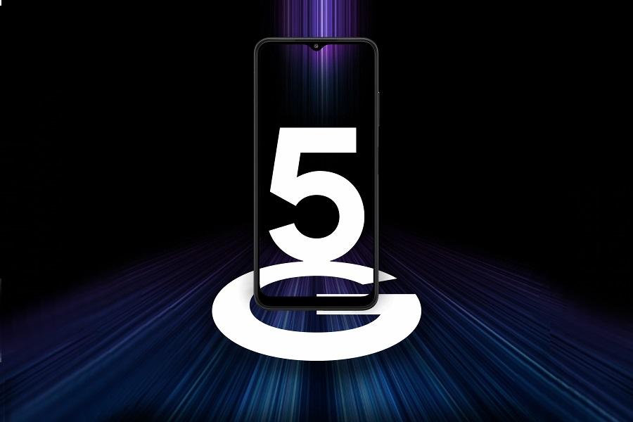 Samsung A22 5G adatátviteli képességgel