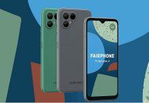 Fairphone 4 mobil telefon